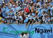 Uruguay Kubur Mimpi Italy ke 16 Besar