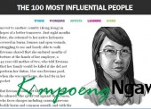 Erwiana, The 100 Most Influential People