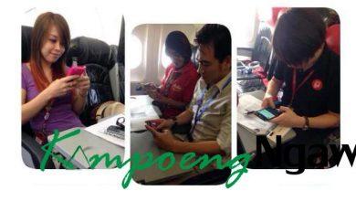 Photo of AirAsia Uji Internet WiFi, Penumpang Indonesia Kebagian