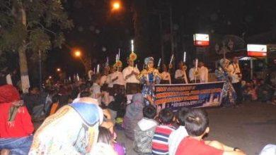 Photo of Pelajar Ngawi Meriahkan Malam Takbiran