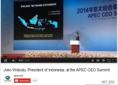 Video Presentasi Jokowi di KTT APEC