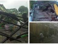 10 Rumah Rusak Berat, 1 TK Ambruk Karena Puting Beliung