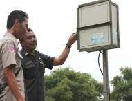 BPBD Ngawi Cek EWS di Wilayah Rawan Banjir