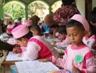 Kembangkan Kreatifitas Sejak Dini Ratusan Anak TK Ikuti Gebyar Seni