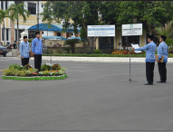 Bupati Ngawi Pimpin Apel Pembinaan Staf 2015