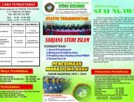 Pendaftaran Mahasiswa Baru STAI Ngawi