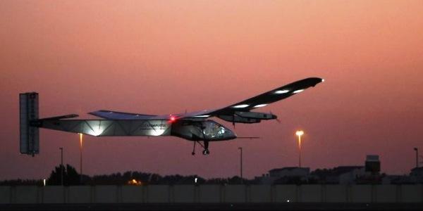 Pesawat Bertenaga Surya Siap Keliling Dunia