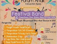 Festival Band Forum Anak Ngawi