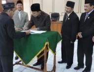 DPRD Ngawi Mengesahkan P-APBD 2016