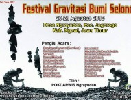 Festival Gravitasi Bumi Selondo