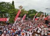 Ribuan Warga Ngawi Ikuti Jalan Sehat