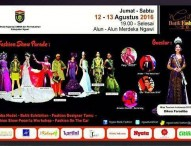 Ngawi Batik Fashion Show 2016