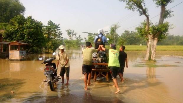 BPBD Ngawi Ingatkan Potensi Meluapnya Bengawan Solo