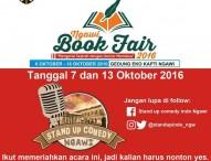 Standup Commedy di Ngawi Book Fair 2016