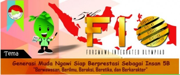 Forsmawi Integrated Olympiad 2017