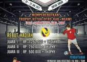 Futsal Competition Trophy Ketua DPRD Ngawi