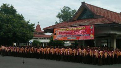 Photo of Kwarcab Ngawi Lantik 990 Pramuka Garuda