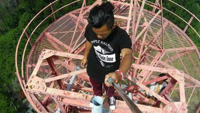 Photo of Puncak Warak dan Stasiun Relay Pacu Adrenalin