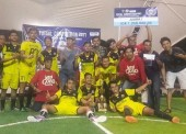 Restu Ibu Juarai Affeto Futsal Cup Ngawi 2017