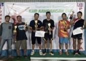 Pacu Semangat Berlatih, PB Kandangan Gelar Tournament Badminton Cup