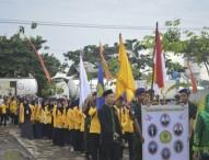 Kirab dan Tasyakuran STKIP Modern Ngawi