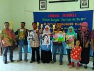 Lomba Lukis Wali Murid TK Gerih Semarakkan Peringatan Hari Kartini 2017