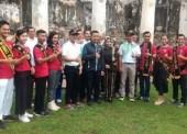 Menpora Sambangi Benteng Pendem Ngawi
