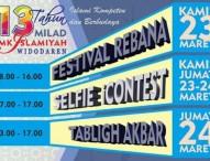 Milad ke-13 SMKI Widodaren Gelar Festival Rebana