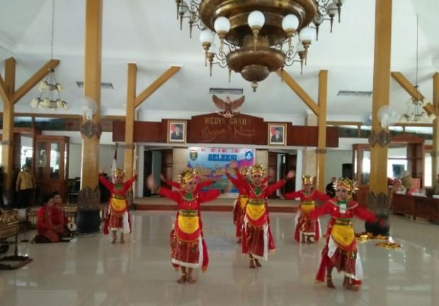 Nguri-uri Budaya Jawa, Dinas Pendidikan Ngawi Adakan Pekan Seni