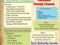 Sosial Photo Competition Seminar Donor Darah IAI Ngawi