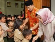 Yayasan Tunas Rimba Perhutani Dekatkan Anak dengan Bupati