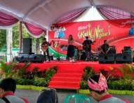 Alunan Musik dan Suara Merdu Hibur Pengunjung Festival Kuliner Khas Ngawi 2017