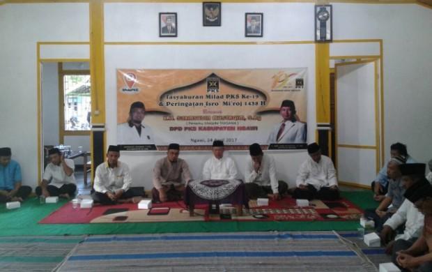 Gebyar Milad ke -19 DPD PKS Ngawi Tetap Berkhidmat Untuk Rakyat