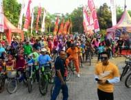 Ratusan Pesepeda Ikuti Fun Bike PG Soedhono 2017