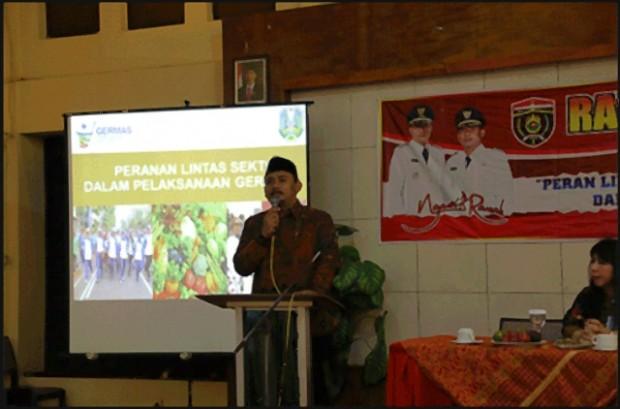 Ony Anwar Buka Rapat Kerja Kesehatan 2017 Kabupaten Ngawi