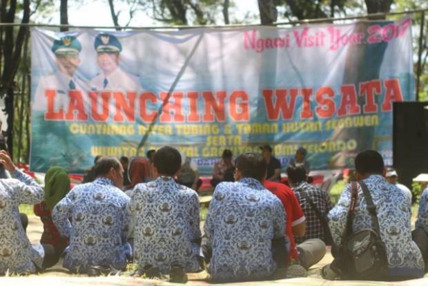 Cunthang Resmi Sebagai River Tubing Pertama di Ngawi