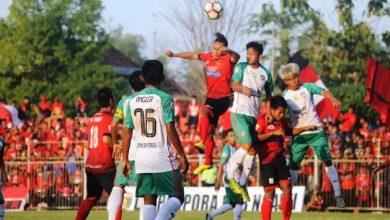 Photo of Permainan Sengit, Persinga Imbang 1-1 Melawan Persatu Tuban