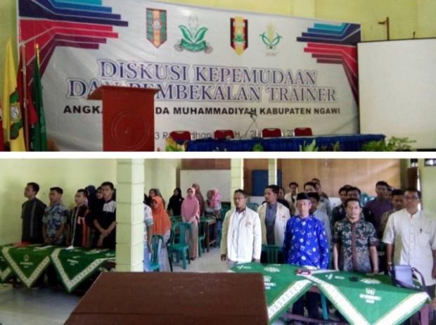 Tingkatkan Keahlian dan Kembangkan Karakter, AMM Ngawi adakan Diskusi Kepemudaan dan Pembekalan Trainer