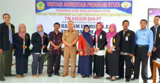 TIM Asesor BAN-PT Lakukan Visitasi Akreditasi Program Studi STKIP Modern Ngawi