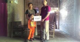 KampoengBerbagi Serahkan Dana Bantuan Peduli Prasetyo