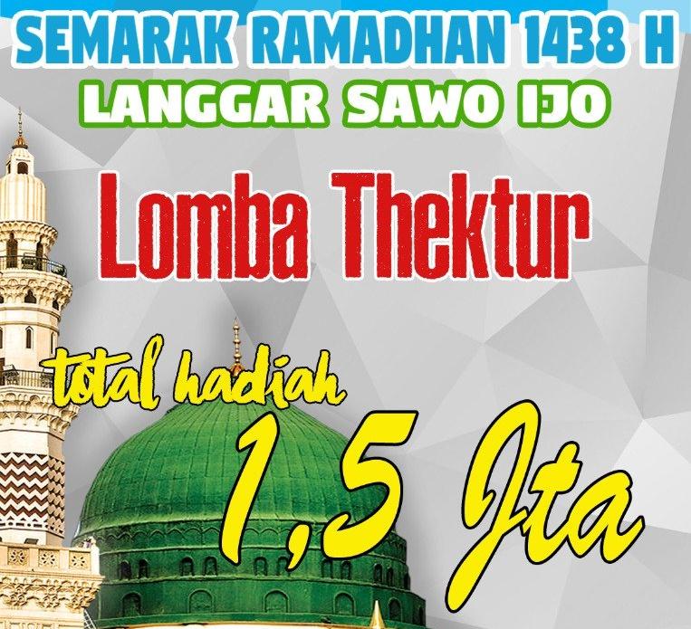 lomba-thektur-langgar-sawo-ijo