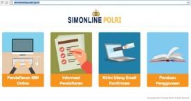 Pembuatan SIM Online Sekarang BISA