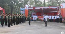 Posko Mudik Lebaran Perhutani 2017 KPH Ngawi