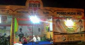 Posko Mudik PKS Ngawi Siap Memfasilitasi Mudik Anda