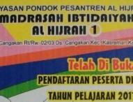 PPDB Madrasah Ibtidaiyah Al Hijrah 1