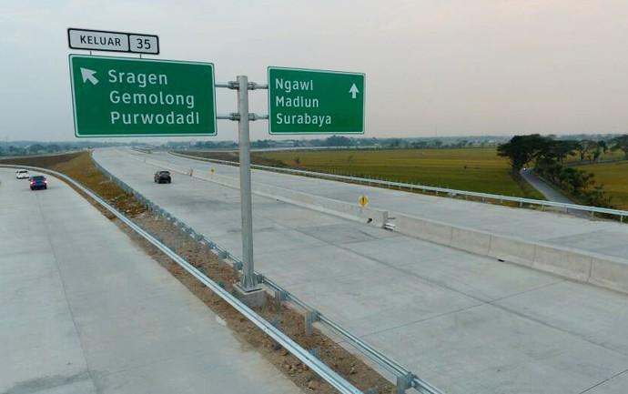 Jalan Tol. Foto-KemenPUPR