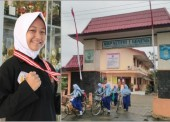 Faradita Arthalia Raih Medali Emas O2SN 2017 Cabang Pencak Silat