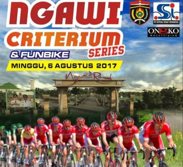 Ngawi Criterium & Funbike Series Berhadiah 75 Juta