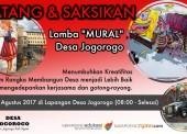 """Kreatif, Desa Jogorogo Adakan Lomba """"Mural"""""""