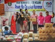 """Putri Pariwisata Indonesia Beli """"Keripik Pejabat"""" Ngawi dan Kirim Lewat PaketPos"""
